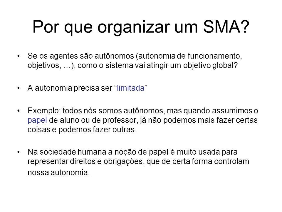 Por que organizar um SMA