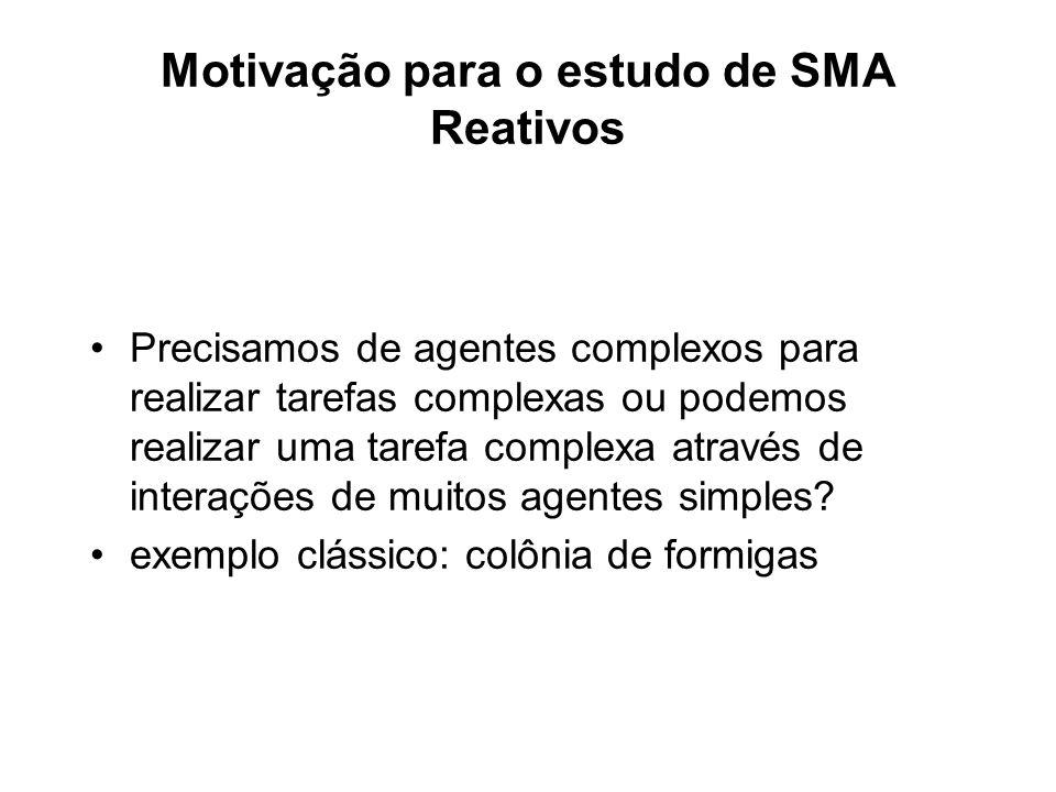 Motivação para o estudo de SMA Reativos