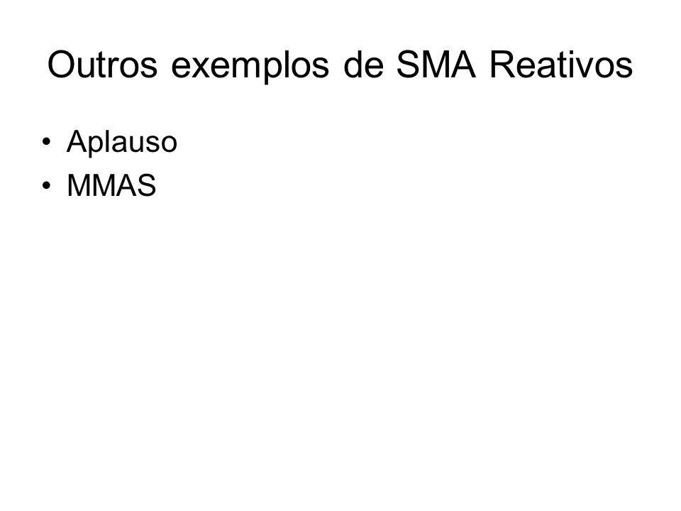 Outros exemplos de SMA Reativos