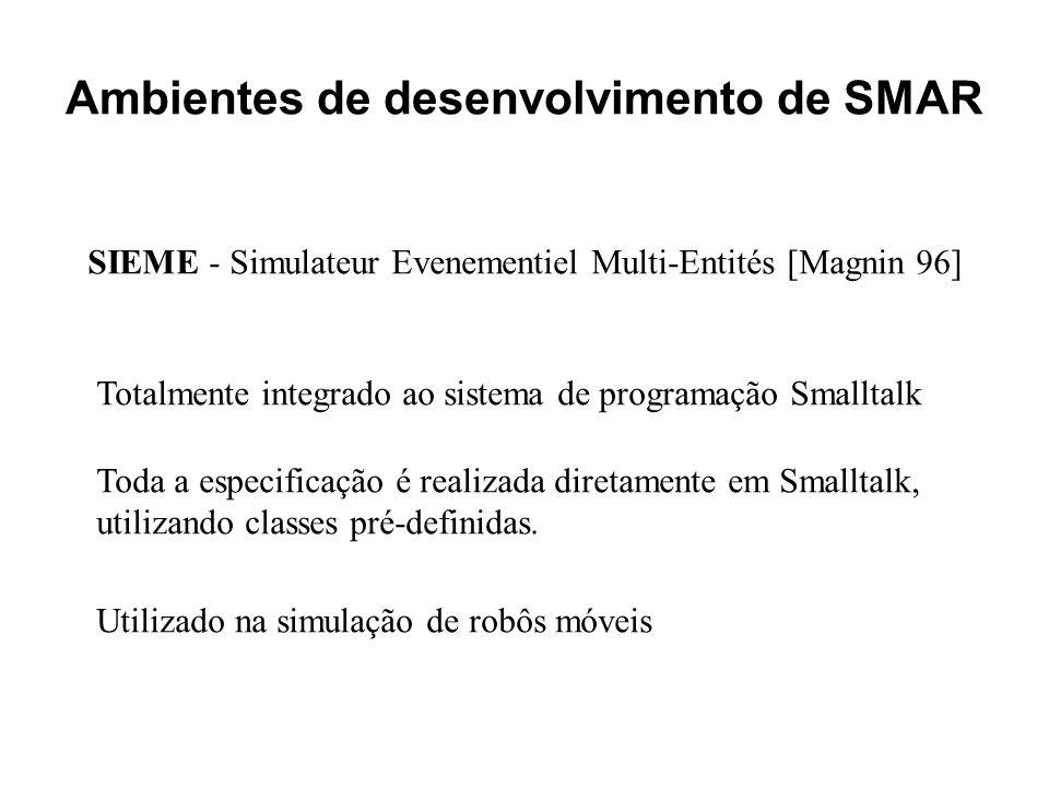 Ambientes de desenvolvimento de SMAR