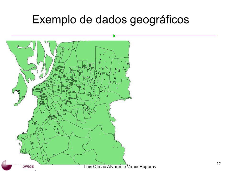 Exemplo de dados geográficos