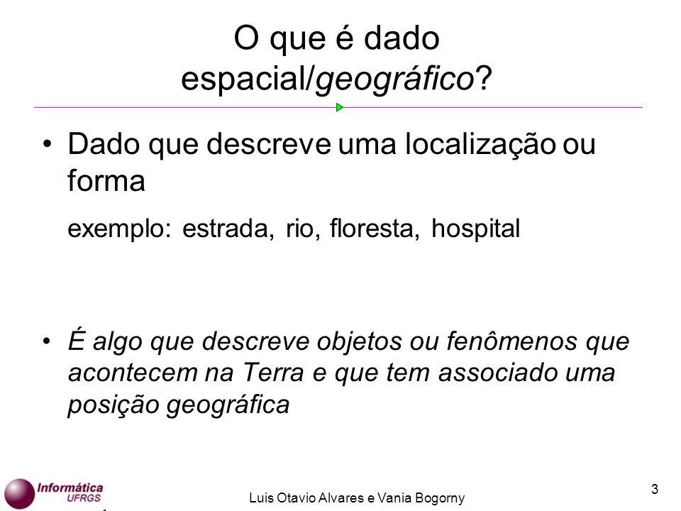 O que é dado espacial/geográfico