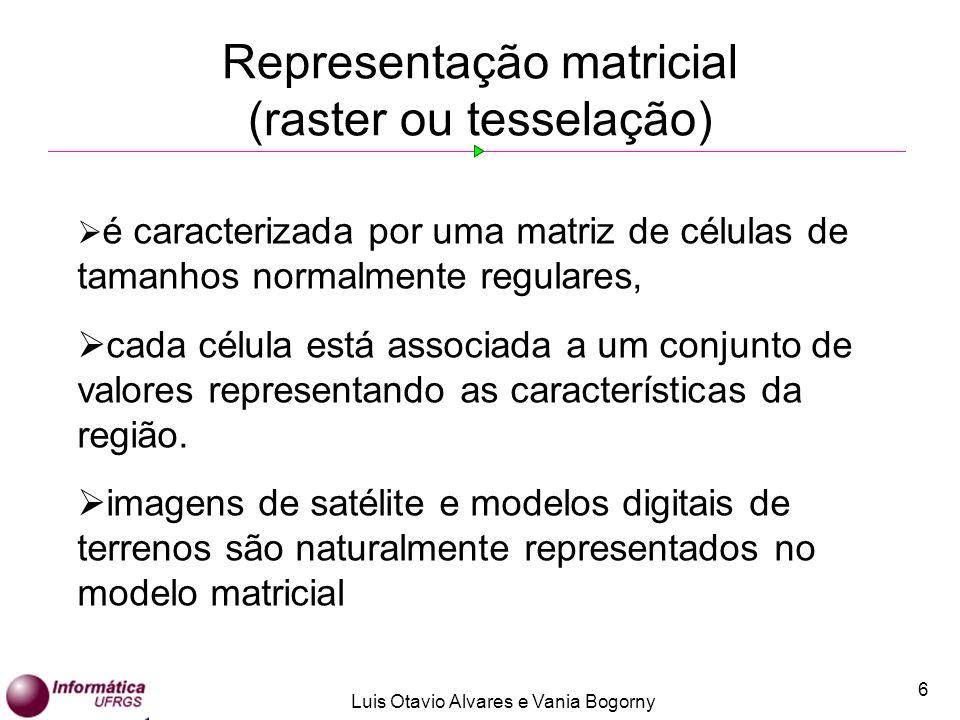 Representação matricial (raster ou tesselação)