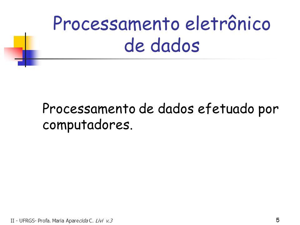 Processamento eletrônico de dados