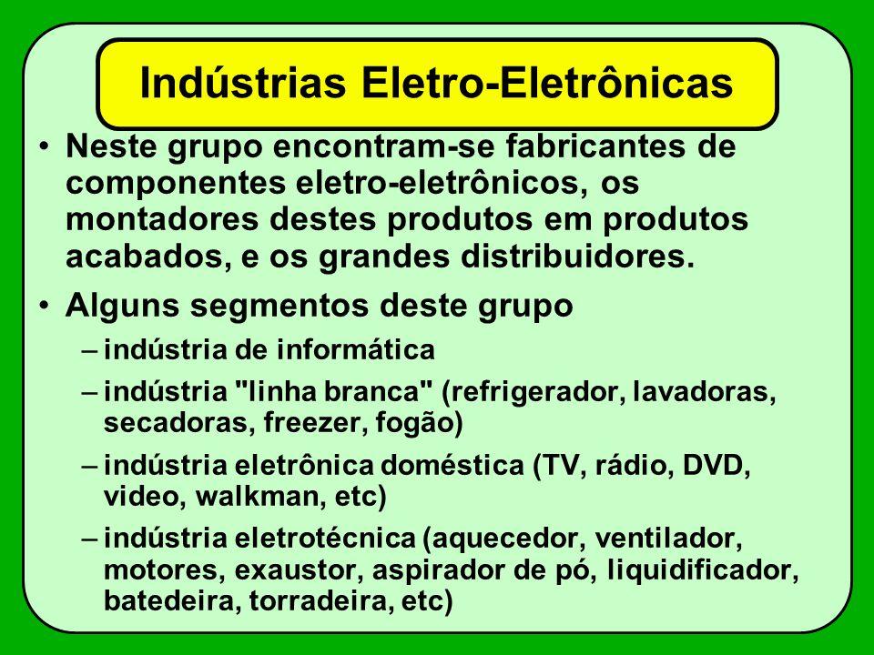 Indústrias Eletro-Eletrônicas