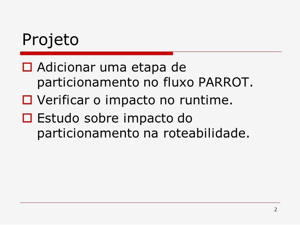 Projeto Adicionar uma etapa de particionamento no fluxo PARROT.