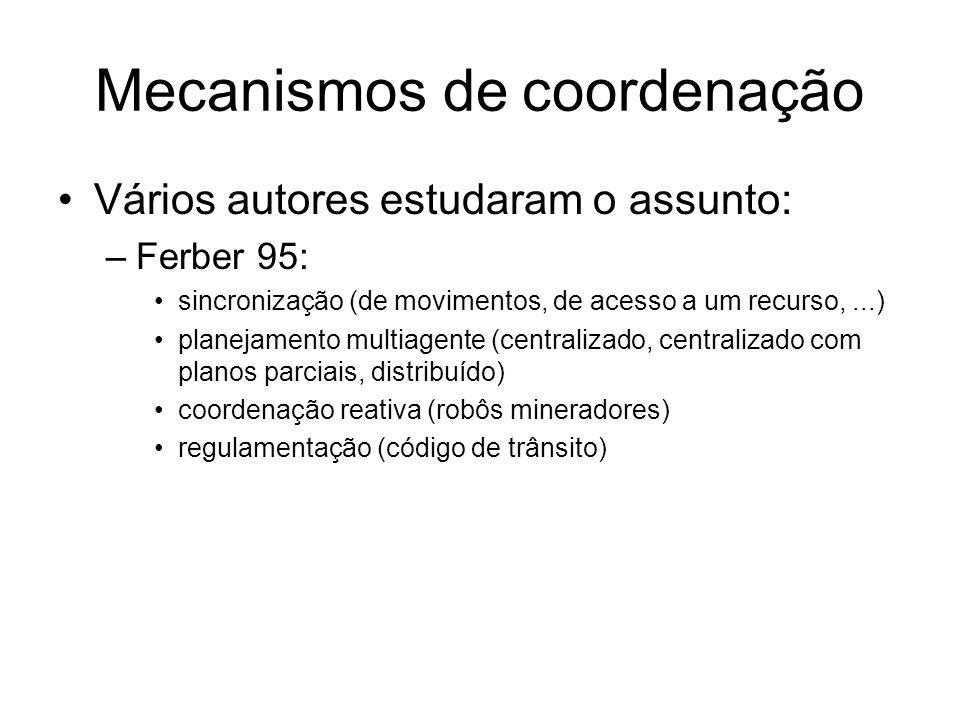 Mecanismos de coordenação