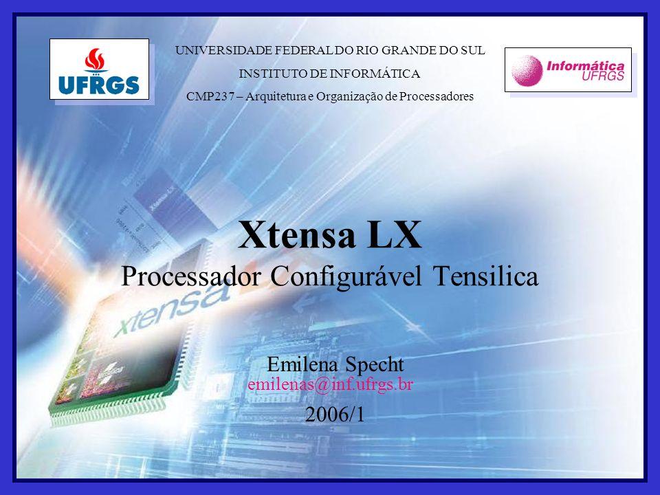 Xtensa LX Processador Configurável Tensilica