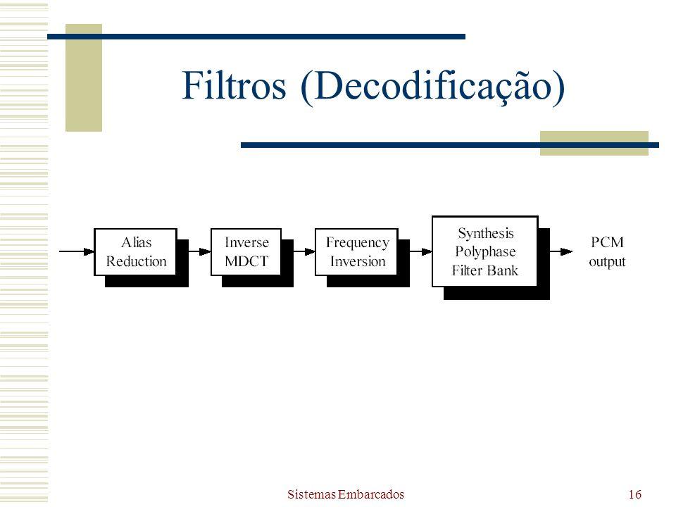 Filtros (Decodificação)