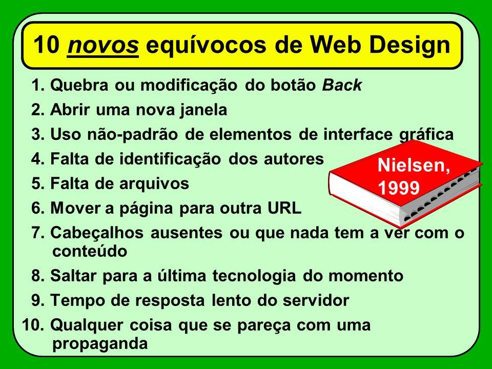 10 novos equívocos de Web Design