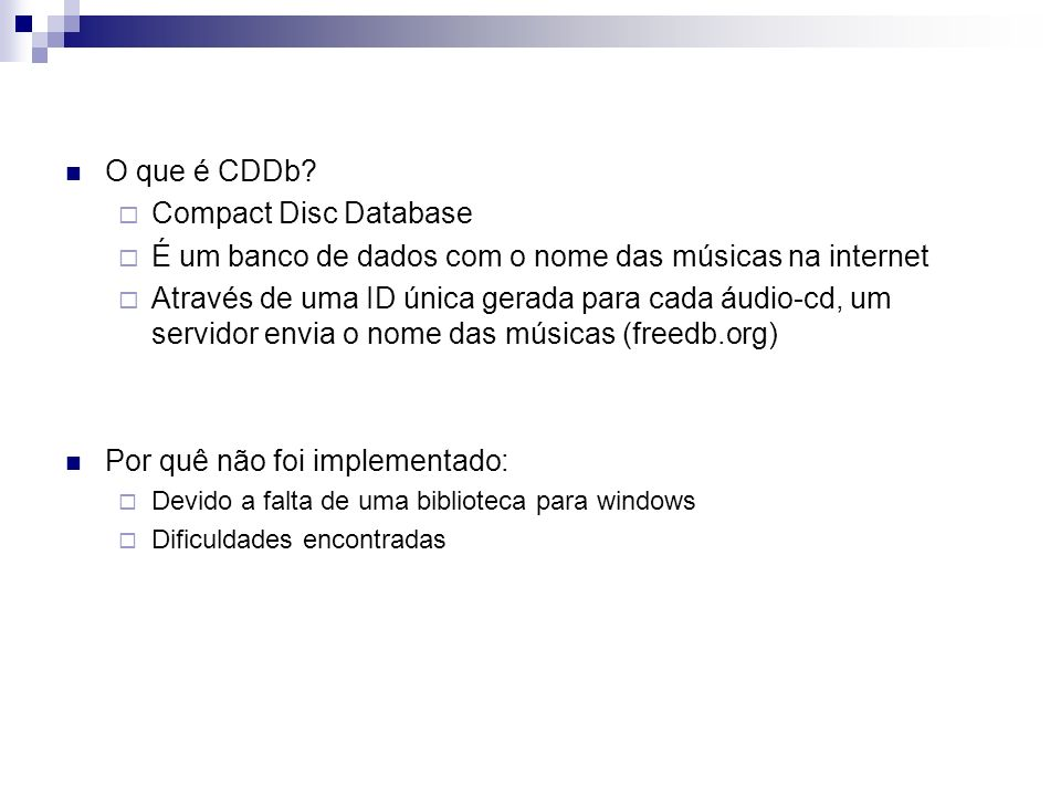 É um banco de dados com o nome das músicas na internet