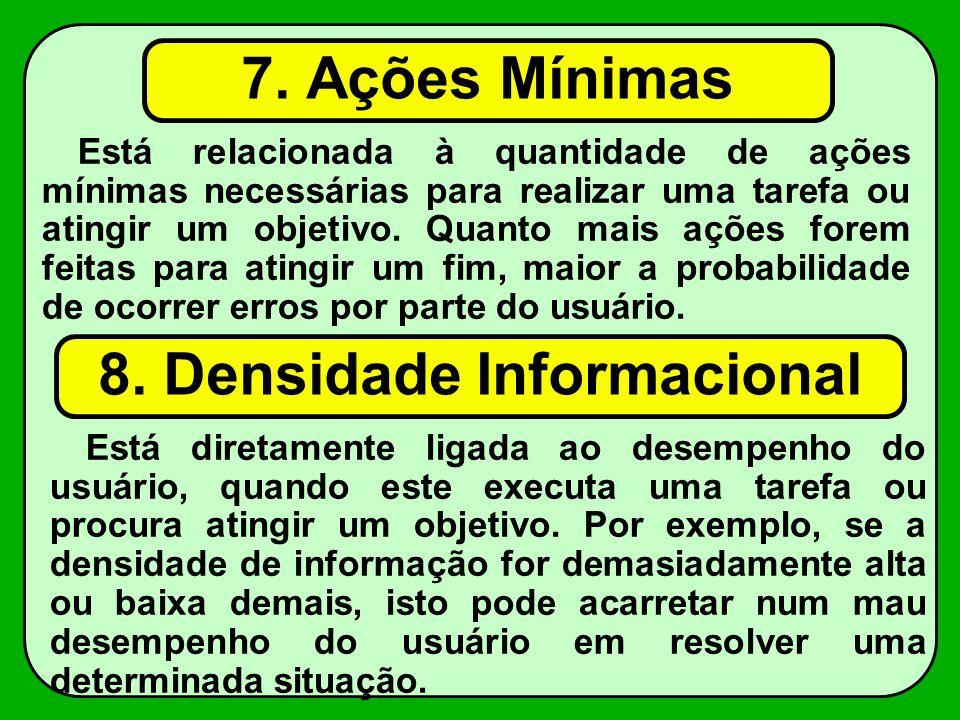 8. Densidade Informacional