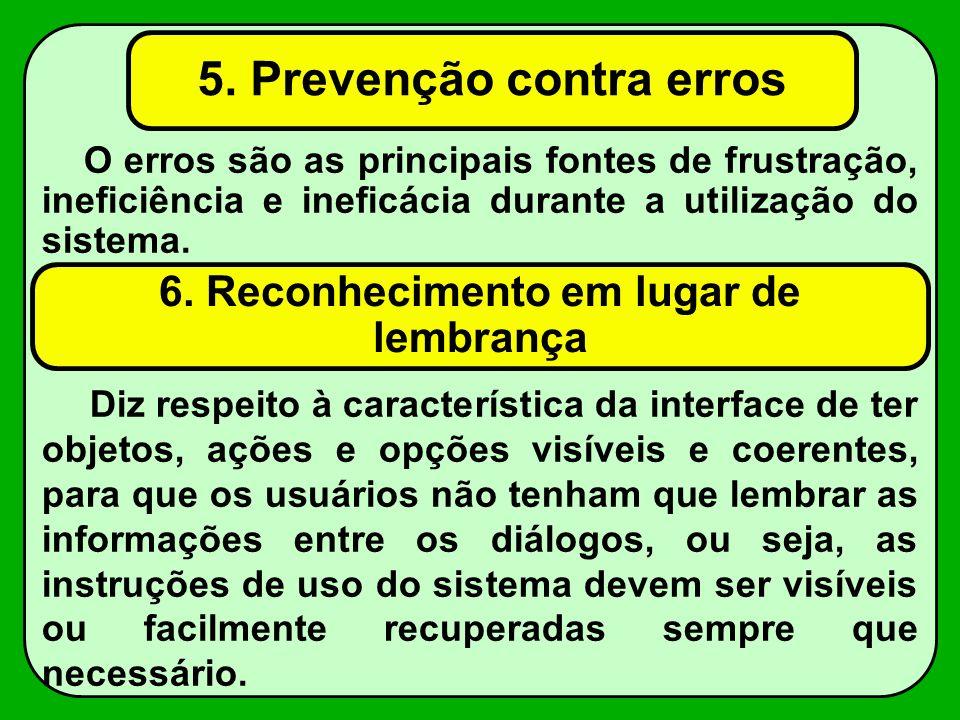 5. Prevenção contra erros