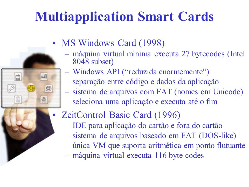 Multiapplication Smart Cards