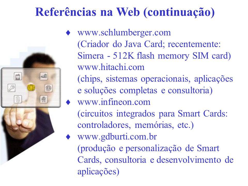 Referências na Web (continuação)