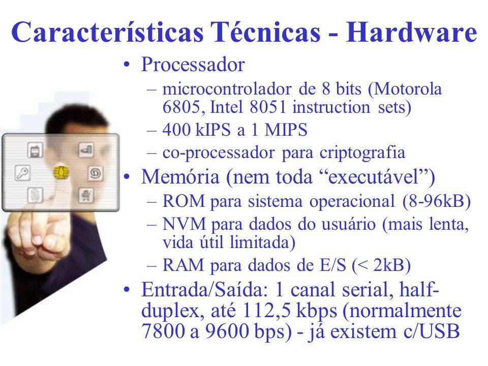 Características Técnicas - Hardware