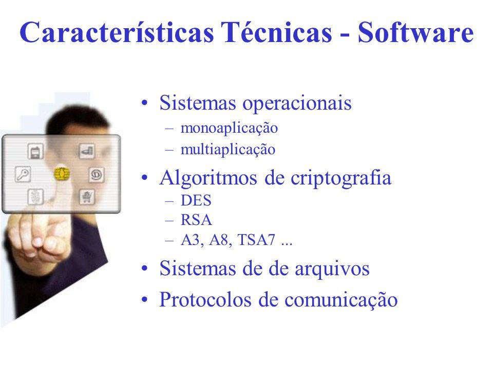 Características Técnicas - Software