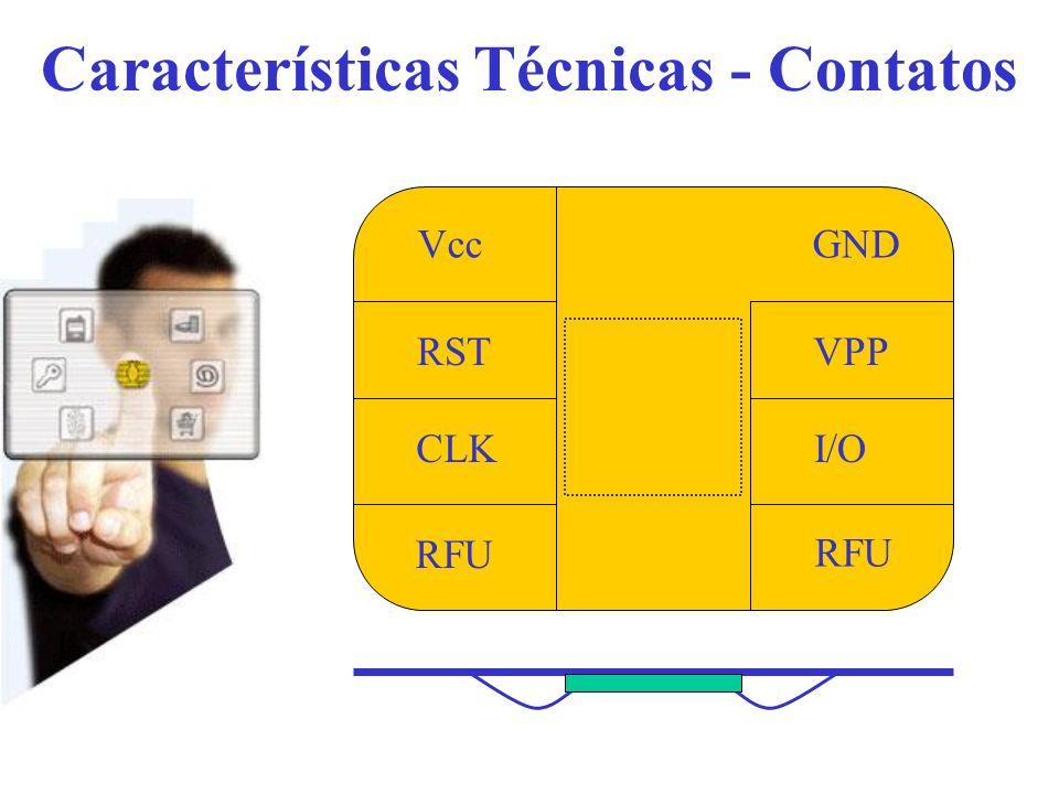 Características Técnicas - Contatos