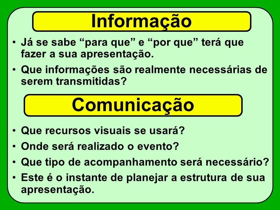 Informação Comunicação