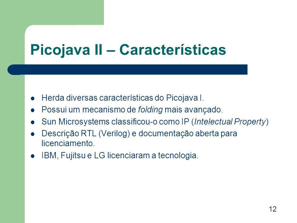 Picojava II – Características