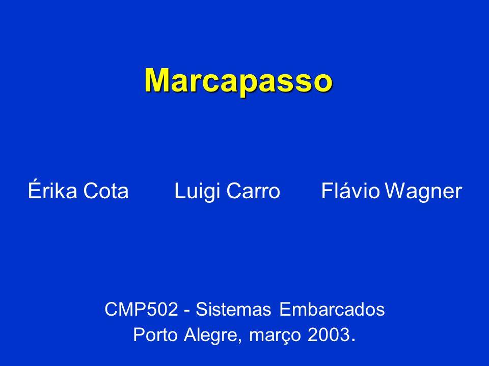 Marcapasso Érika Cota Luigi Carro Flávio Wagner