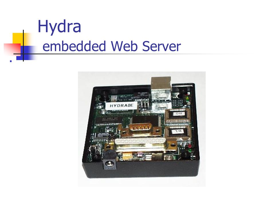 Hydra embedded Web Server