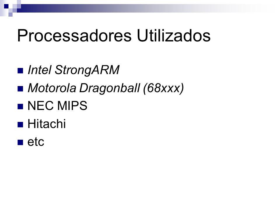 Processadores Utilizados