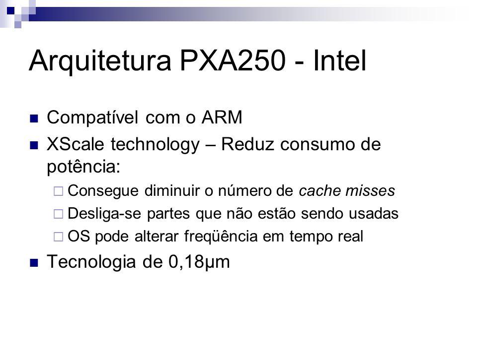 Arquitetura PXA250 - Intel