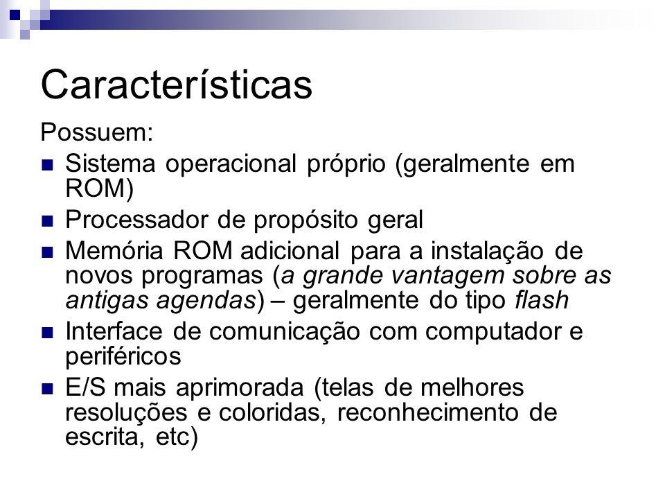 Características Possuem: