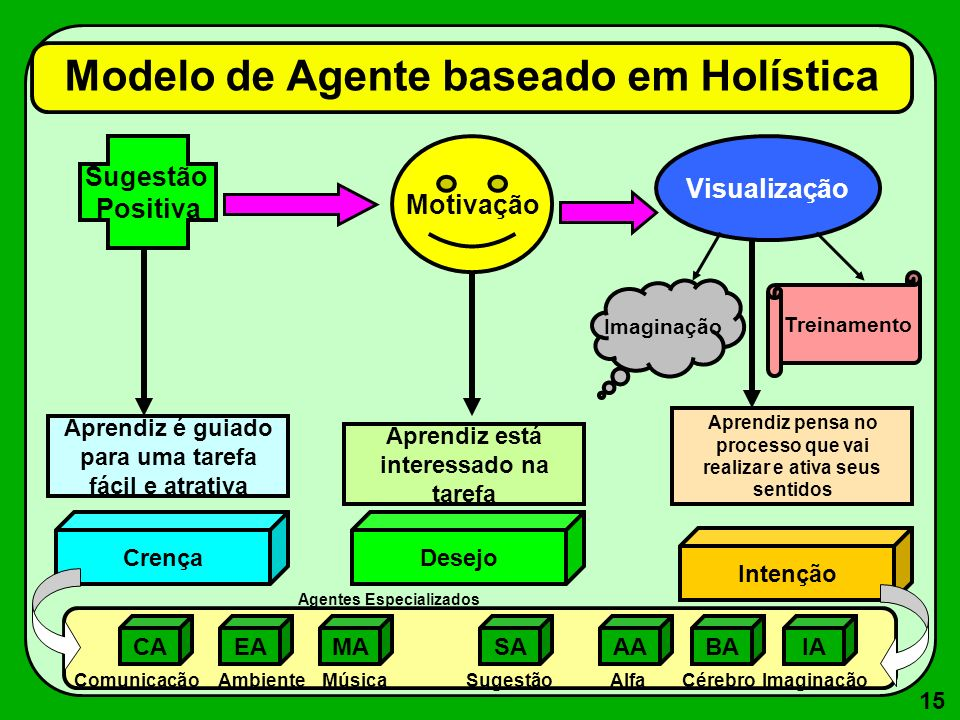 Modelo de Agente baseado em Holística