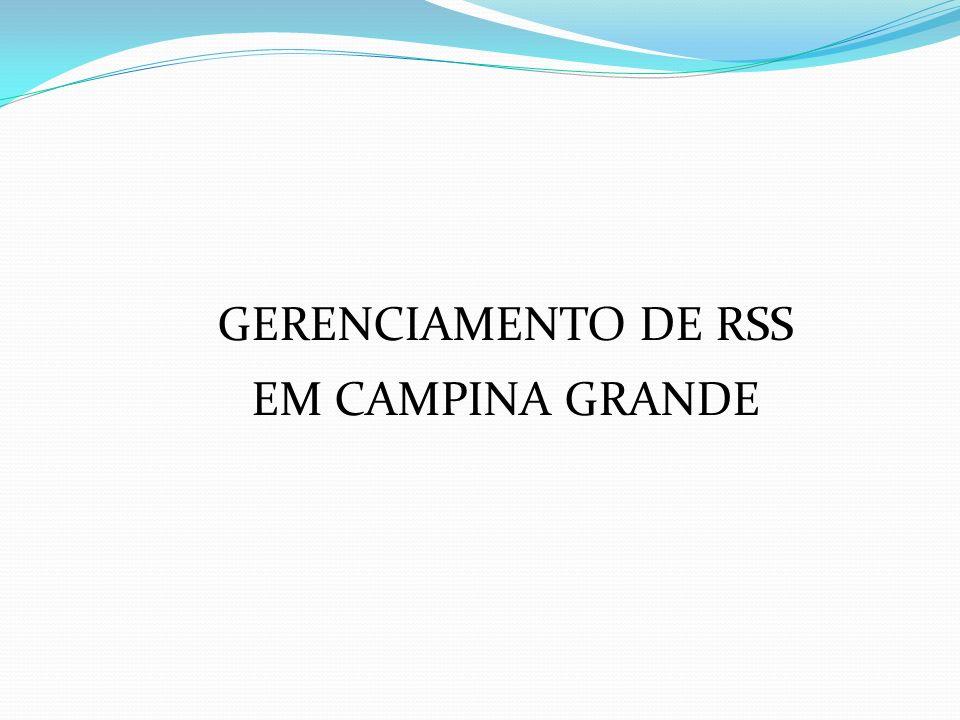 GERENCIAMENTO DE RSS EM CAMPINA GRANDE