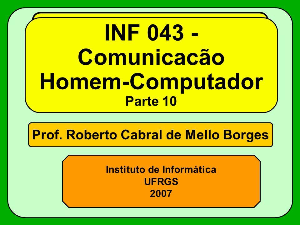 INF 043 - Comunicacão Homem-Computador Parte 10