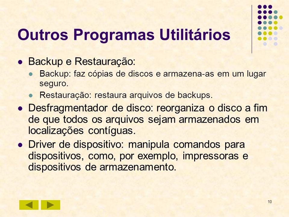 Outros Programas Utilitários