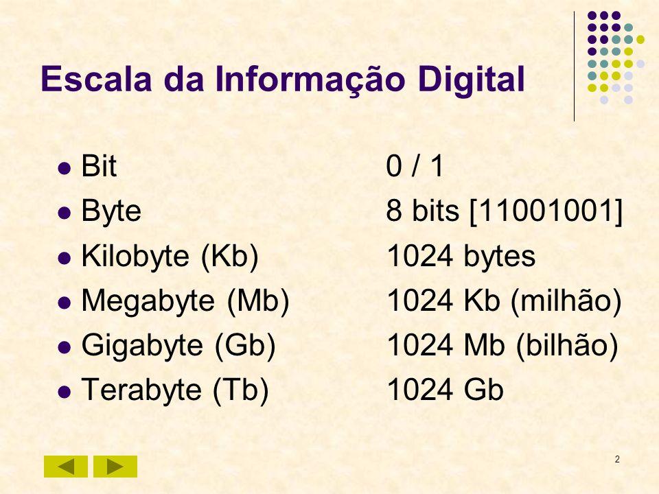 Escala da Informação Digital