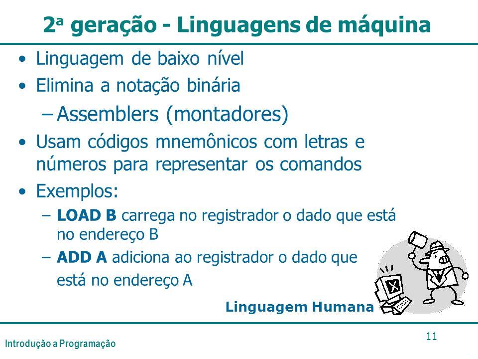 2a geração - Linguagens de máquina