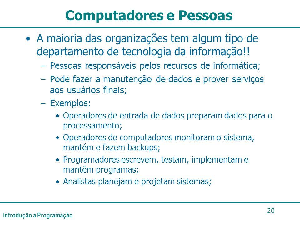 Computadores e Pessoas