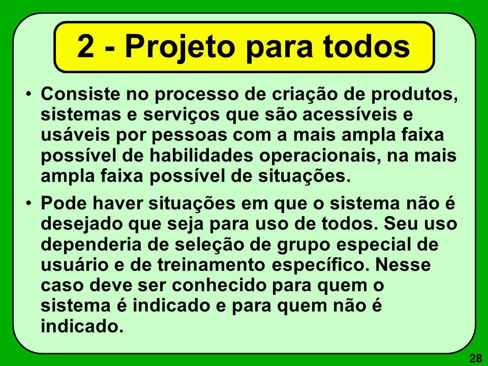 2 - Projeto para todos