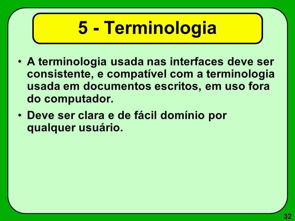 5 - Terminologia