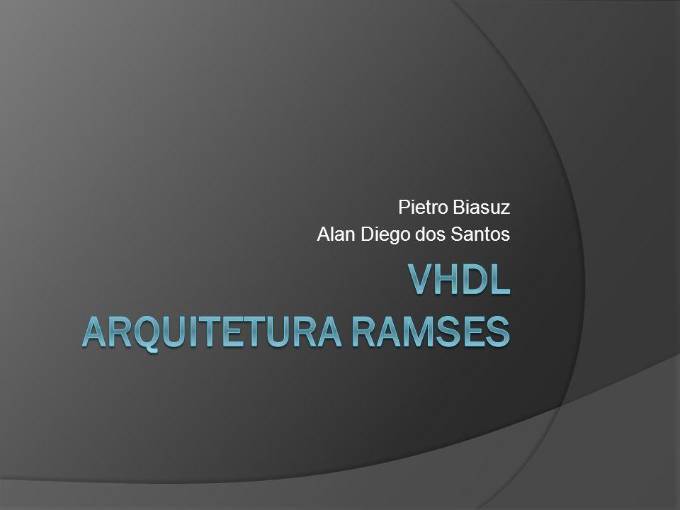 VHDL arquitetura ramses