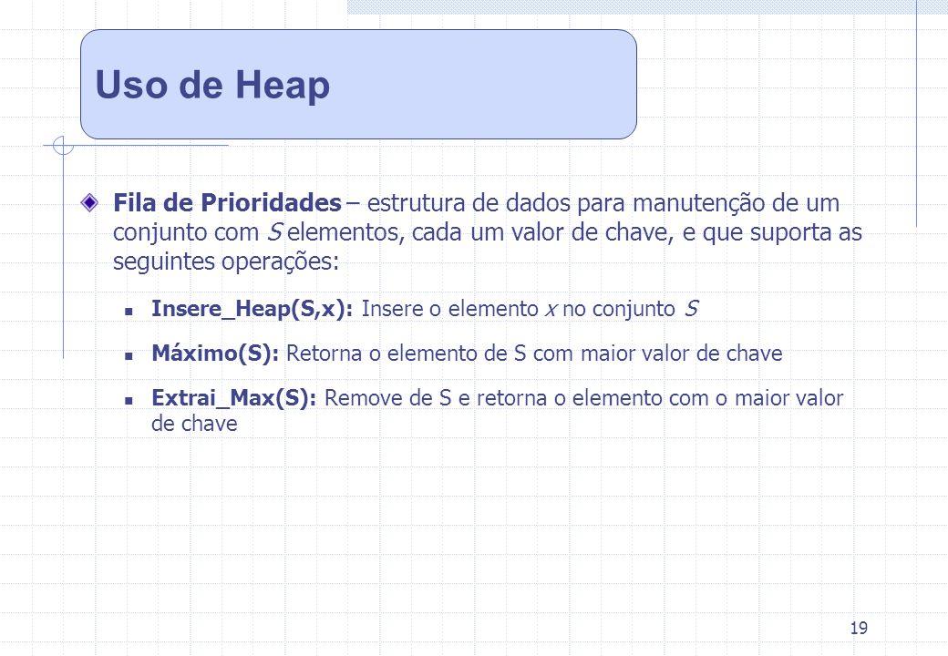 Uso de Heap