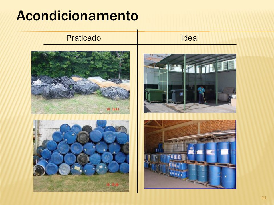 Acondicionamento Praticado Ideal