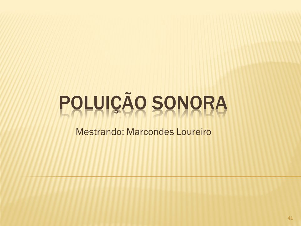 Mestrando: Marcondes Loureiro
