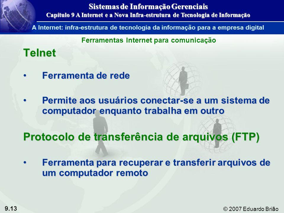 Protocolo de transferência de arquivos (FTP)