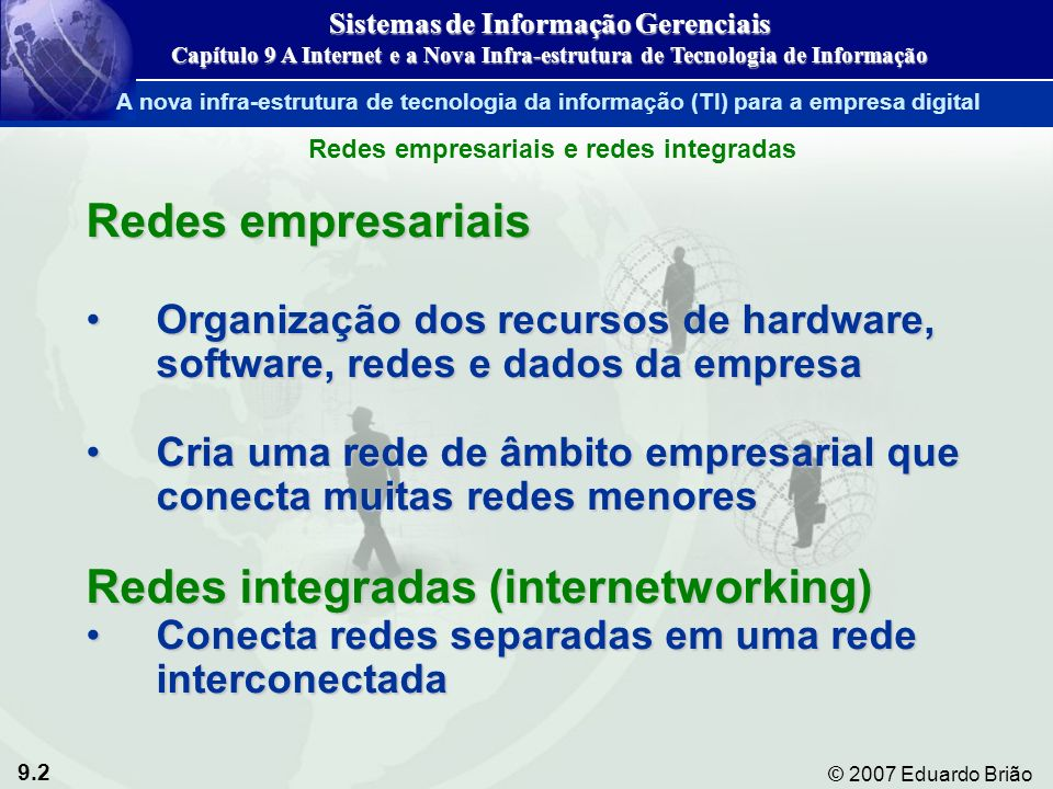 Redes integradas (internetworking)