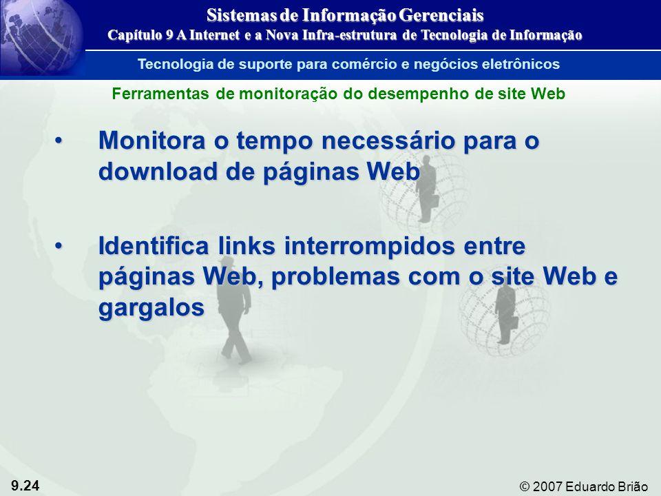 Monitora o tempo necessário para o download de páginas Web