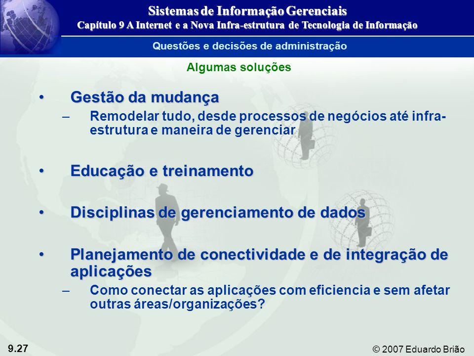 Sistemas de Informação Gerenciais Questões e decisões de administração