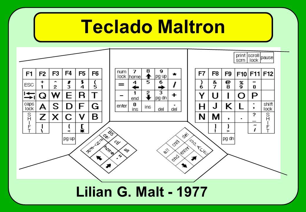 Teclado Maltron Lilian G. Malt - 1977