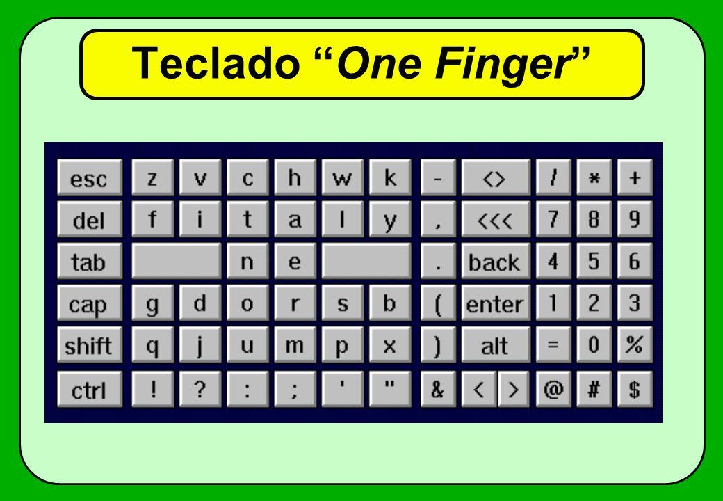 Teclado One Finger