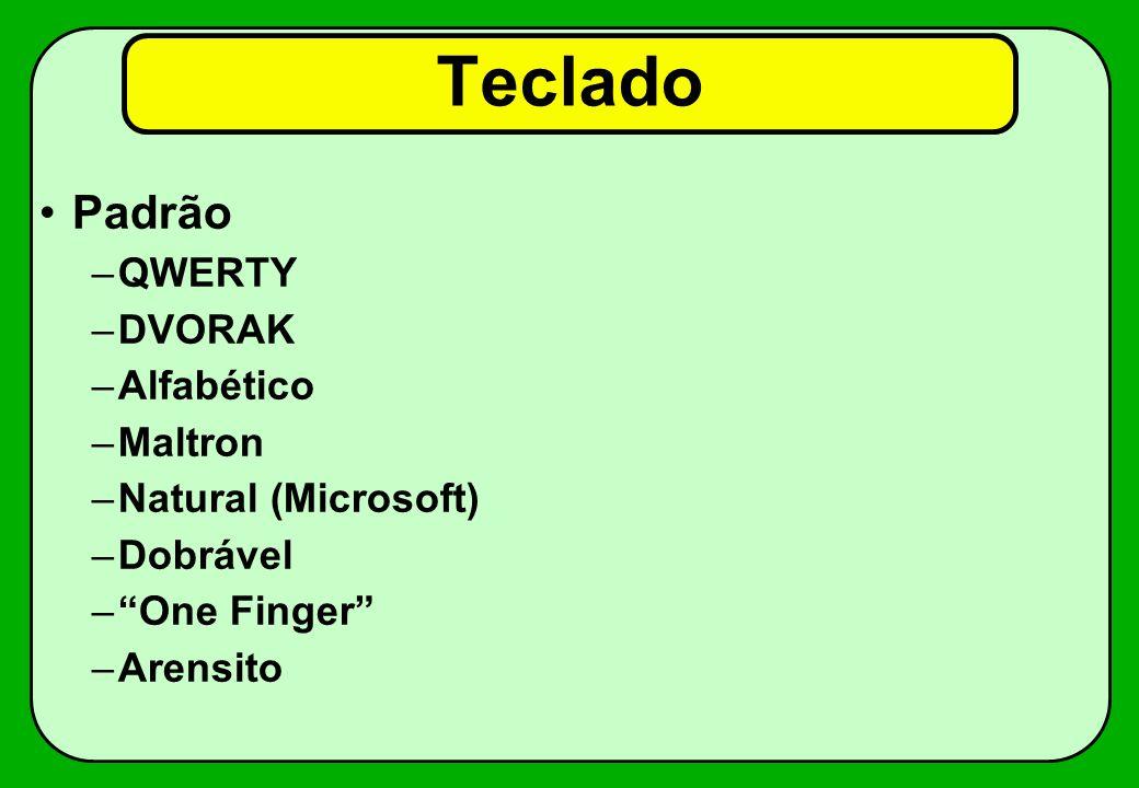 Teclado Padrão QWERTY DVORAK Alfabético Maltron Natural (Microsoft)
