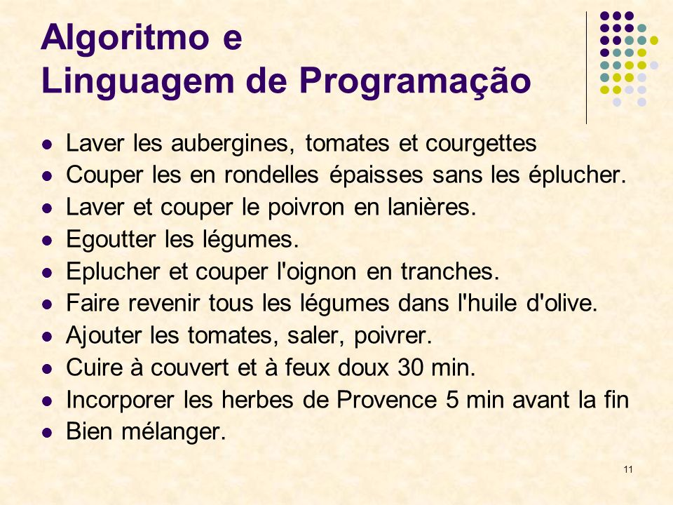 Algoritmo e Linguagem de Programação